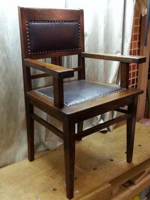 Дубовое кресло .Мастерская Всеволода Полтавцева.