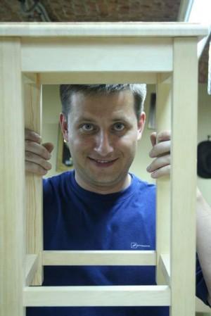 Первая табуретка Столярной мастер-школы 2010год