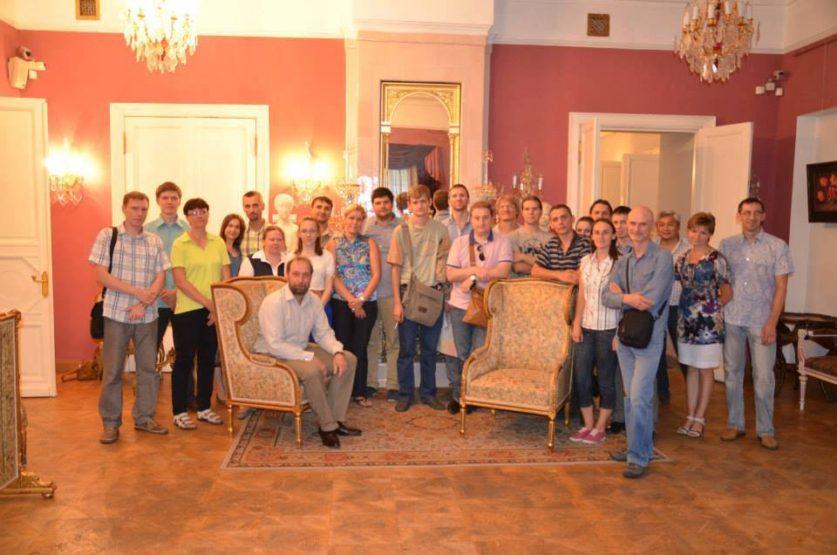 Экскурсия в Московский Музей Мебели (июль 2013 года)